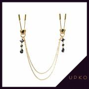 업코 왕관 체인 니플 클램프 | UPKO