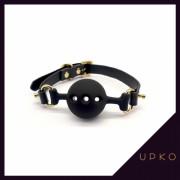 업코 실리콘 오픈 소형 볼 개그 | UPKO